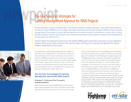 Download: The Five Sure-Fire Strategies for Gaining Management Approval for WMS Projects