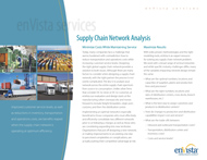 Download: Supply Chain Network Analysis Brochure