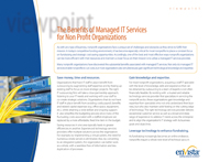 Download: Benefits of Managed IT Services for Non-Profit Organizations