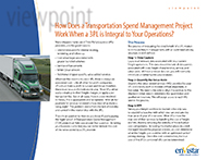 Download: How Does a Transportation Spend Management Project Work When a 3PL is Integral to Your Operations?