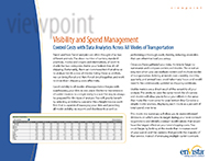 Download: Visibility and Spend Management