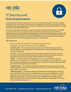 Download: IT Security and Risk Assessment Brochure