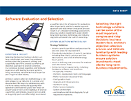 Download: Software Evaluation and Selection Brochure