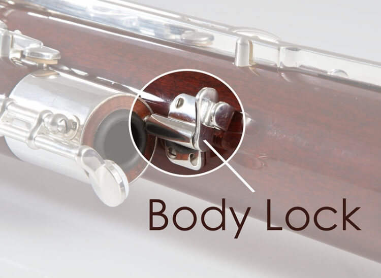 Body Lock Assembly, Silver Plated