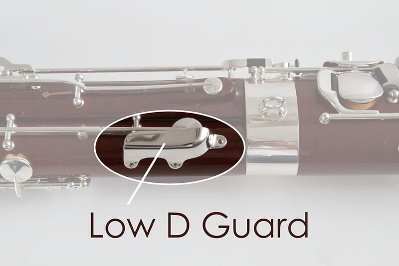 Low D Guard, Silver Plated