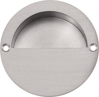 RPRDHC90Recessed Pull Round w/ Half Cup