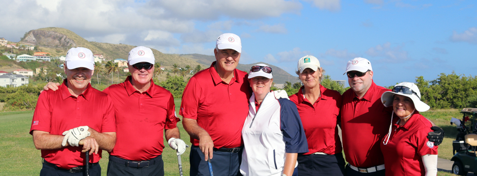 Team G2 at the Admirals Cup - Royal St. Kitts Golf Club