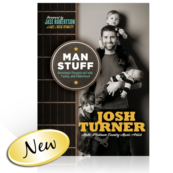 Josh Turner: Man Stuff Book
