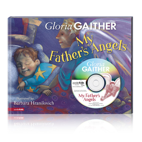 My Fathers Angels by Gloria Gaither Book & CD