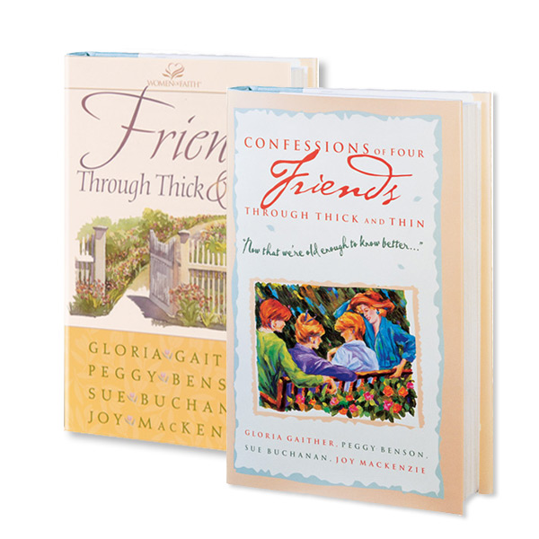 Friends Through Thick And Thin 2 book package