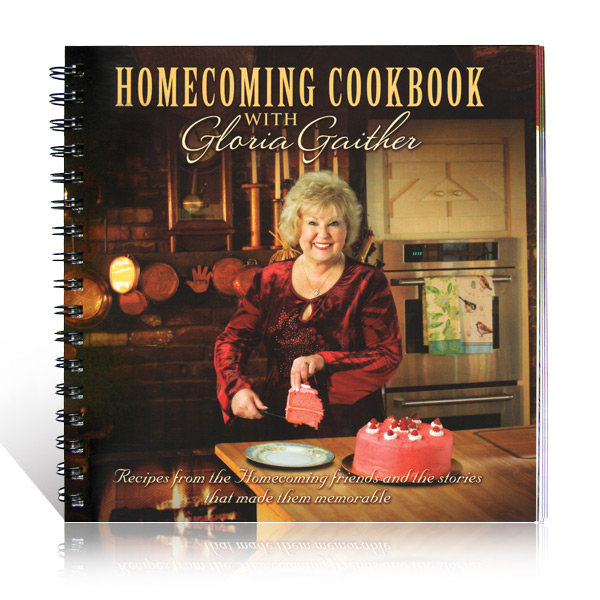 Gloria Gaither: Homecoming Cookbook