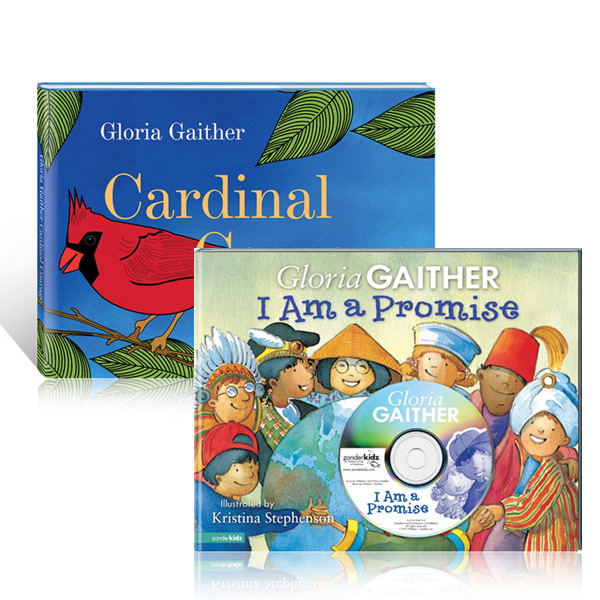 Cardinal Courage Book w/I Am A Promise Book & CD