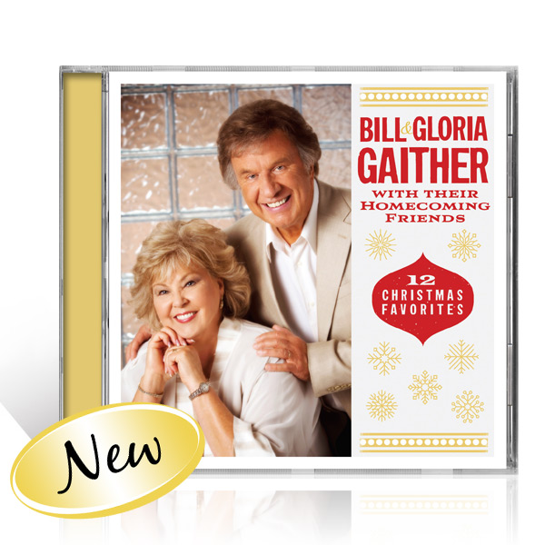 Bill & Gloria Gaither: 12 Christmas Favorites CD