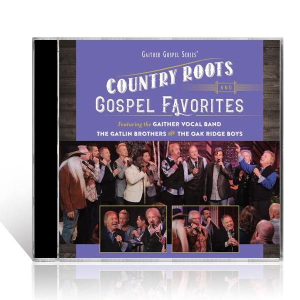 GVB/Gatlin Brothers/Oak Ridge Boys: Country Roots And Gospel Favorites CD