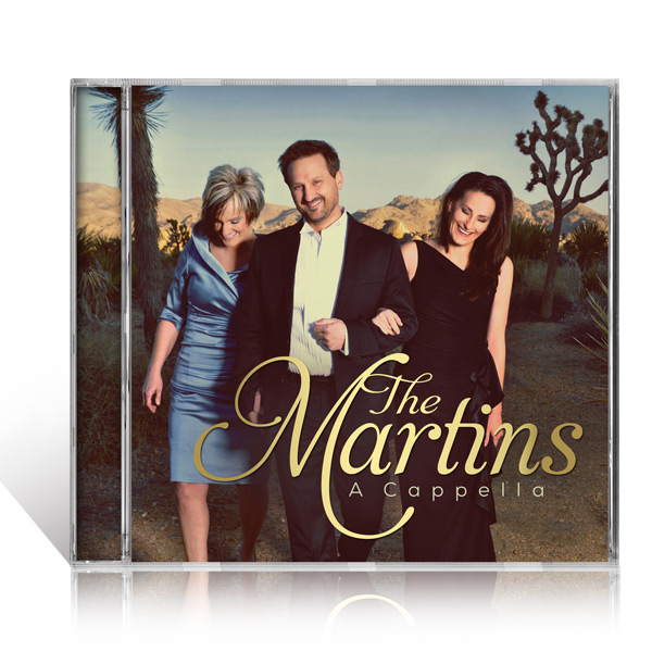 The Martins: A Cappella CD