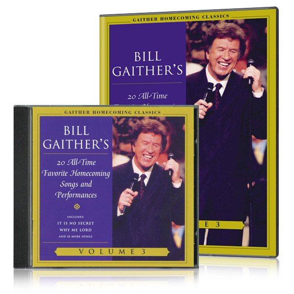 Gaither Homecoming Classics Vol 3 DVD & CD