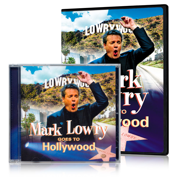 Mark Lowry Goes To Hollywood DVD & CD