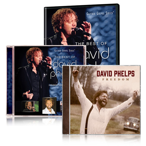 Best Of David Phelps DVD/CD w/bonus David Phelps Freedom CD