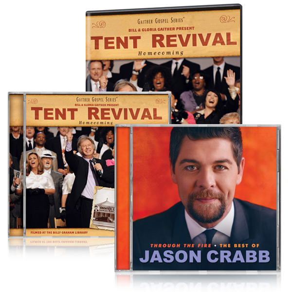 Tent Revival Homecoming DVD/CD w/bonus Best Of Jason Crabb CD