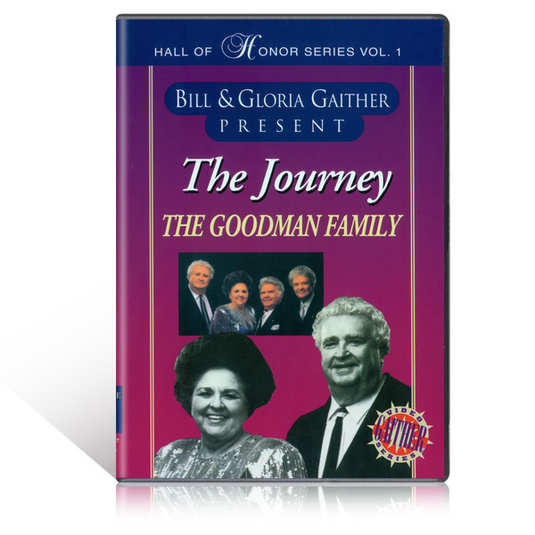The Goodman Family:  The Journey DVD