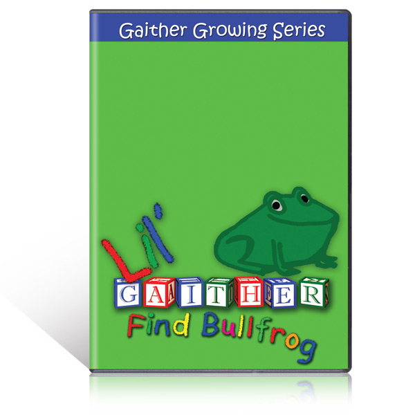 Lil Gaither Find Bullfrog DVD