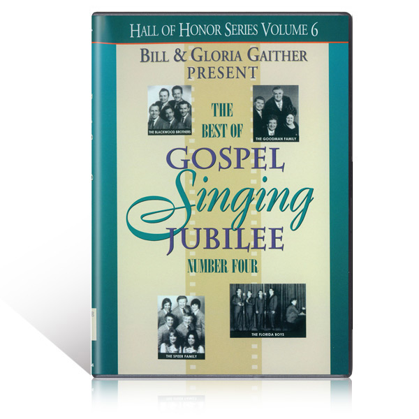 The Best of the Gospel Singing Jubilee Vol 4 DVD