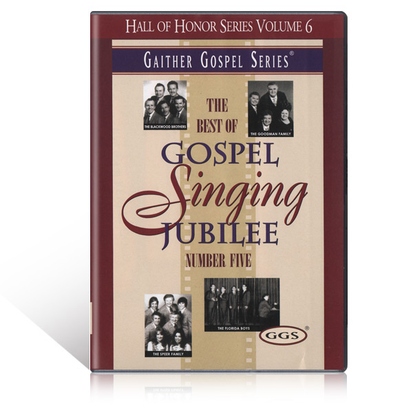 The Best of the Gospel Singing Jubilee Vol 5 DVD