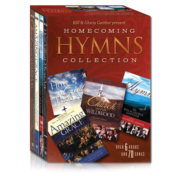 Homecoming Hymns Collection 4 DVDs