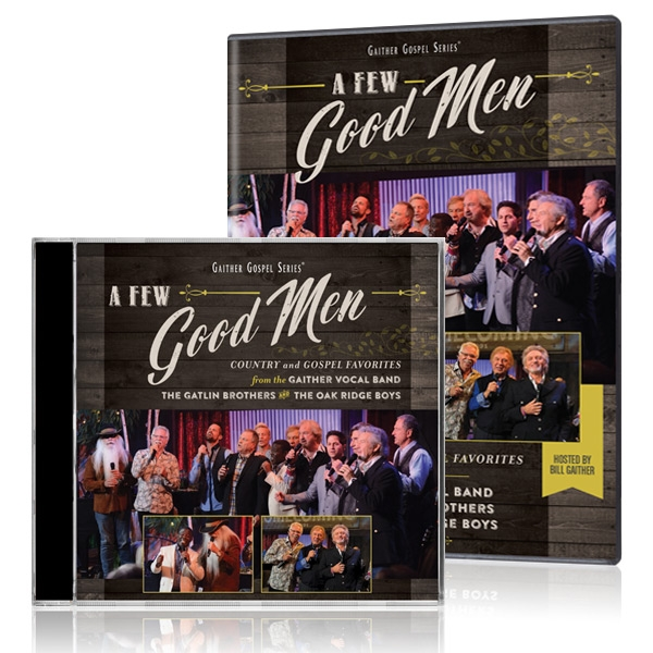 GVB/Gatlin Brothers/Oak Ridge Boys: A Few Good Men DVD&CD