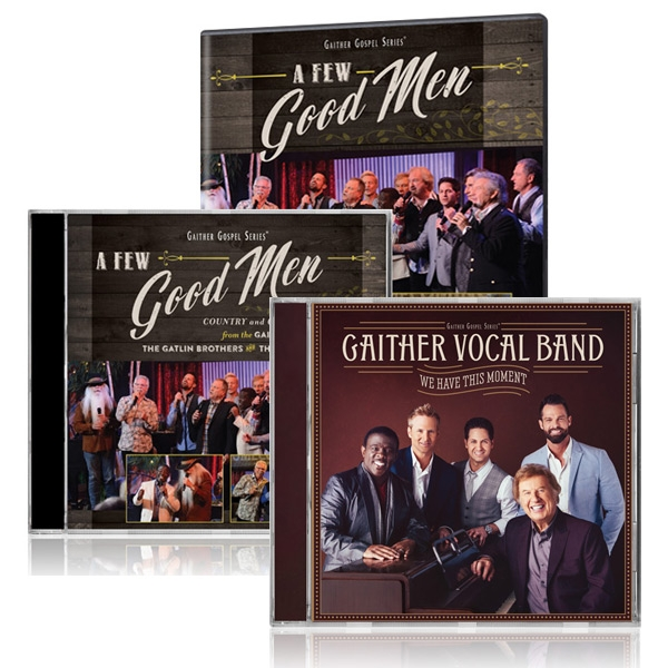 A Few Good Men DVD/CD w/bonus GVB We Have This Moment CD