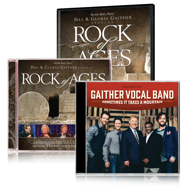 Rock Of Ages DVD/CD w/bonus GVB: Sometimes It Takes A Mountain CD