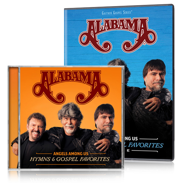 Alabama: Angels Among Us - Hymns & Gospel Favorites LIVE DVD/CD