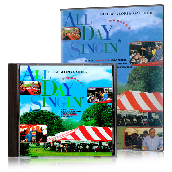 All Day Singin and Dinner On The Ground DVD & CD