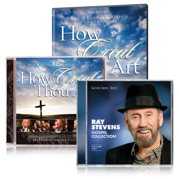 How Great Thou Art DVD/CD w/bonus Ray Stevens Gospel Collection CD