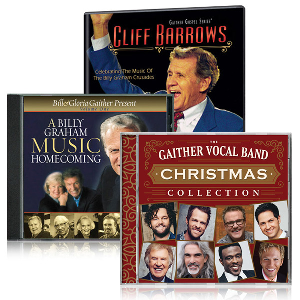 Cliff Barrows: Celebrating The Music Of The Billy Graham Crusades DVD/CD w/bonus GVB Christmas Colle