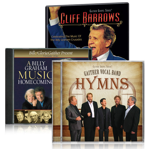 Cliff Barrows: Celebrating The Music Of The Billy Graham Crusades DVD w/Billy Graham Music Homecomin