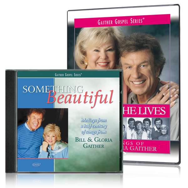 Because He Lives DVD w/Something Beautiful 2 CD set