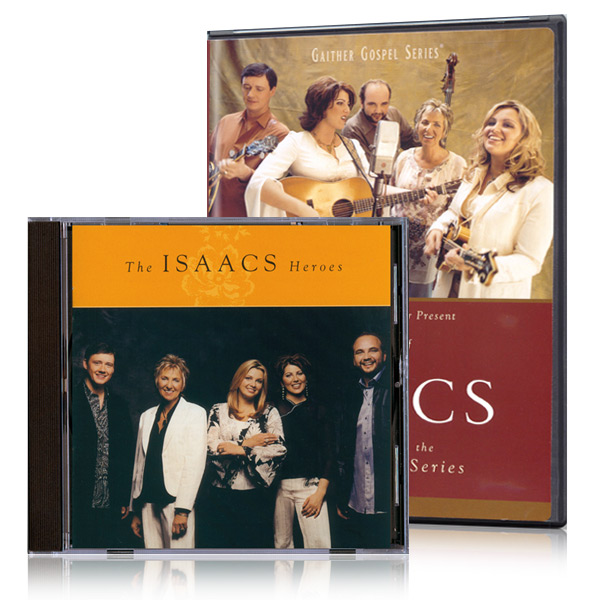 The Best Of The Isaacs DVD w/ Heroes CD
