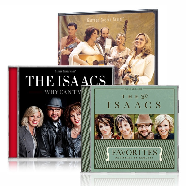Best Of The Isaacs DVD/Why Cant We CD w/Favorites: Revisited CD
