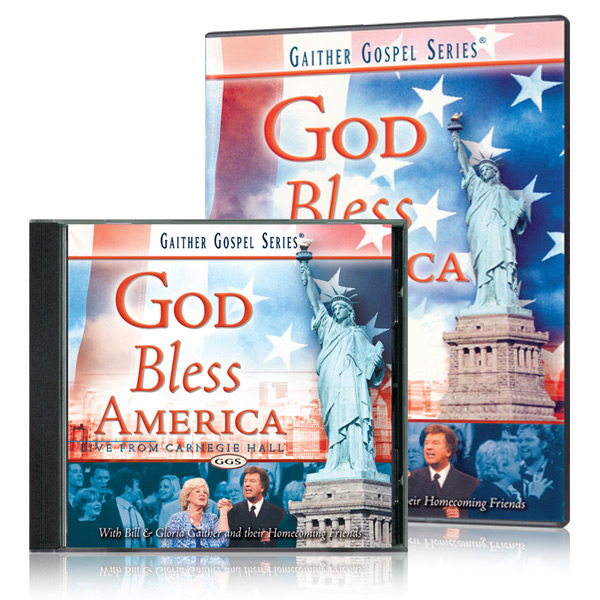 God Bless America DVD & CD