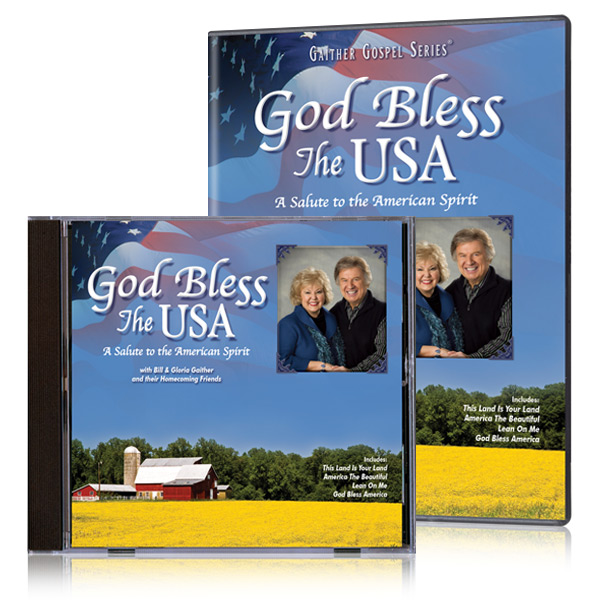 God Bless The USA DVD & CD
