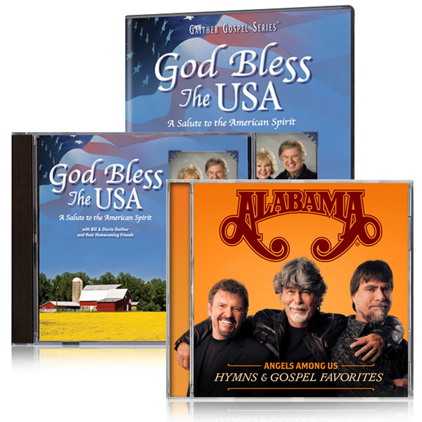 God Bless The USA DVD & CD With Bonus Alabama Angels Among Us CD