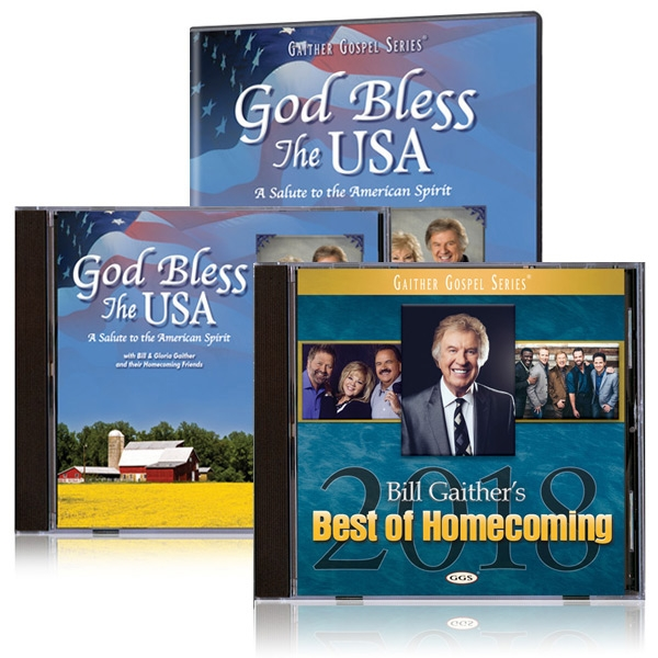 God Bless The USA DVD/CD w/bonus Best Of Homecoming 2018 CD