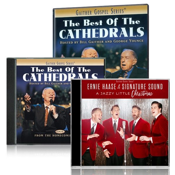 The Best Of The Cathedrals DVD/CD w/EHSS: A Jazzy Little Christmas CD