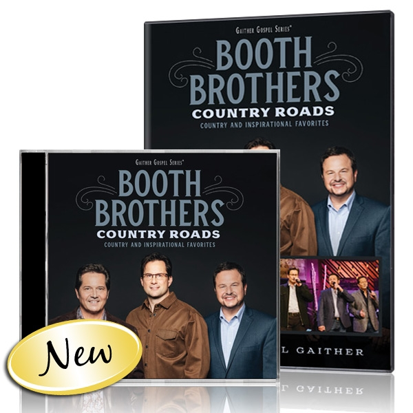 Booth Brothers: Country Roads DVD & CD - Gaither