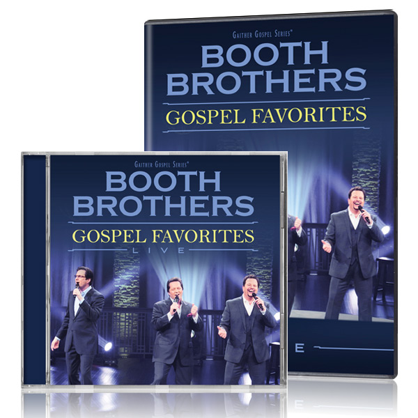 Booth Brothers: Gospel Favorites Live DVD/CD