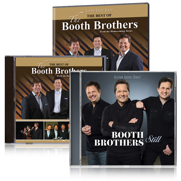 Best Of The Booth Brothers DVD/CD w/bonus Still CD