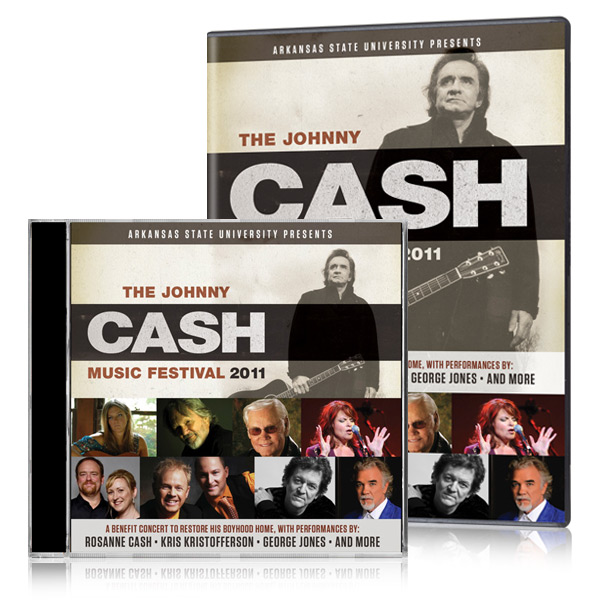 The Johnny Cash Music Festival 2011 DVD & CD
