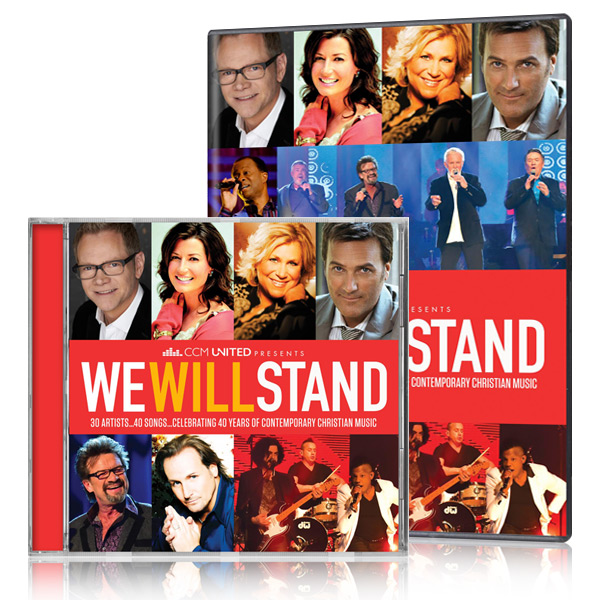 CCM United: We Will Stand DVD/CDs