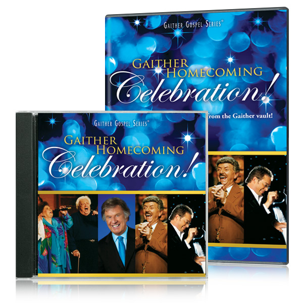 Gaither Homecoming Celebration DVD & CD